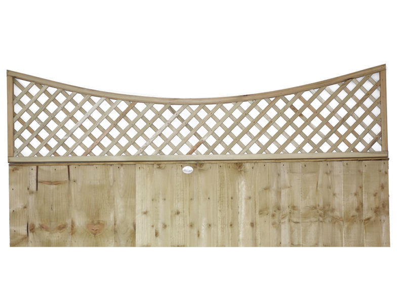 Bow Top Diamond Trellis