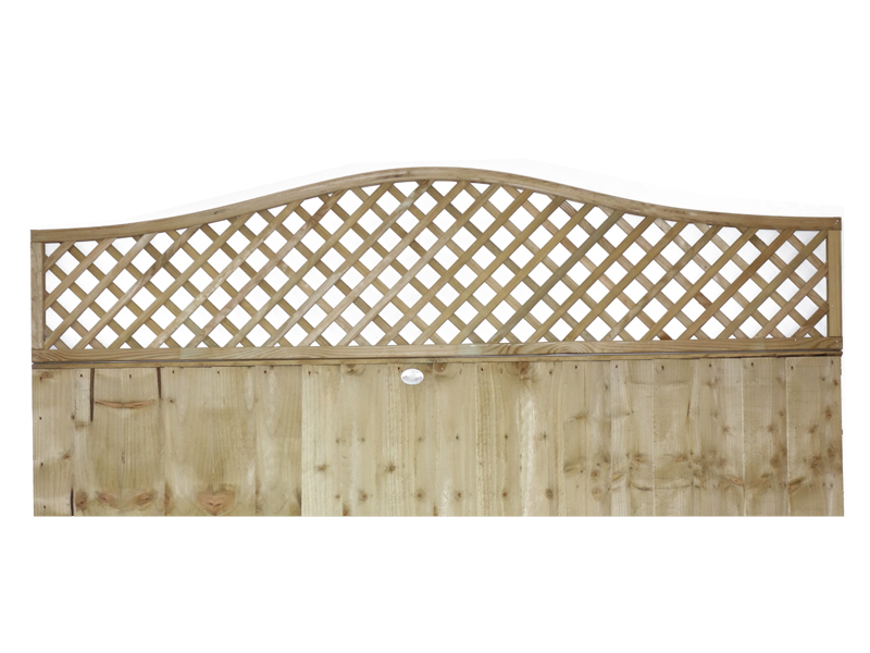 Wave top Diamond Trellis